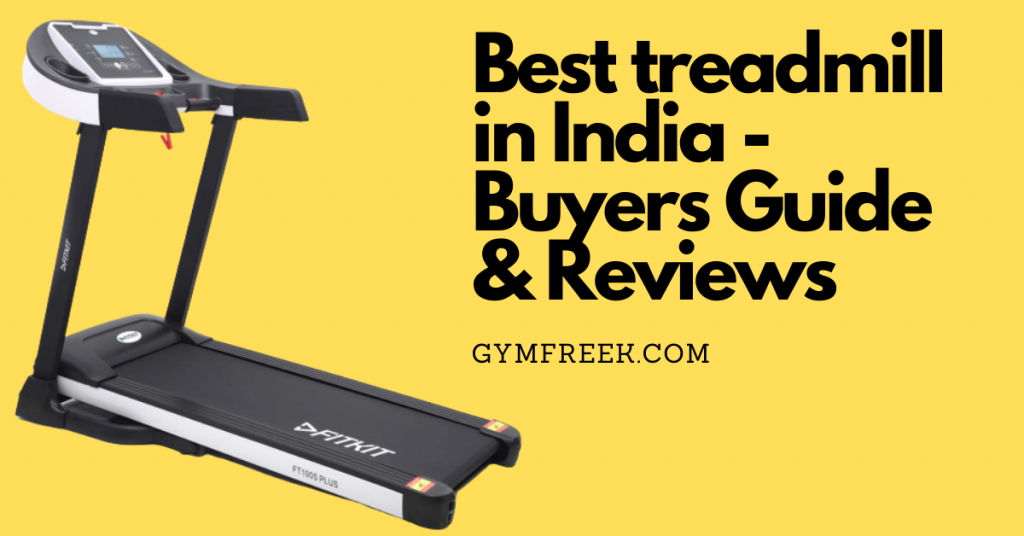 Top 10 Best Treadmills For Home in India 2020 – Reviews